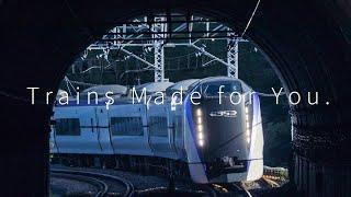 J-TREC 総合車両製作所 公式ムービー Trains Made for You.
