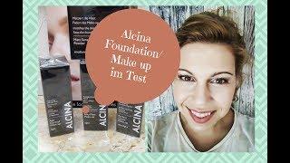 Alcina Foundation im Test / Tages Make up