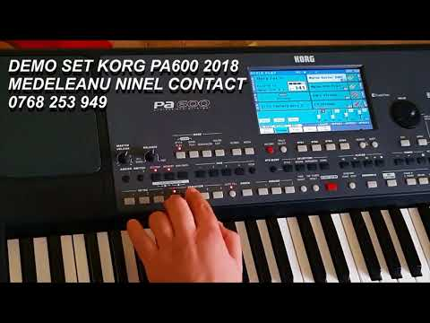 Download Korg Pa 600 Demo Set Full 2018 Video 3GP Mp4 FLV HD Mp3