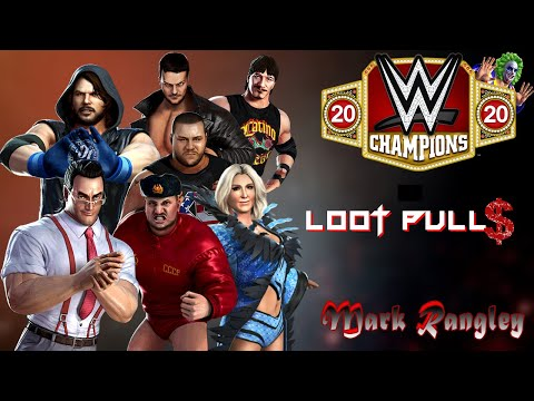 BIRTHDAY LOOT PULLS!!! WWE Champions - 🎥