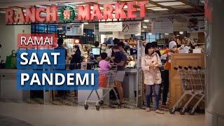 VIDEO Suasana Mal di Jakarta, Pengunjung Menurun hingga Banyak yang Belum Terapkan Social Distancing
