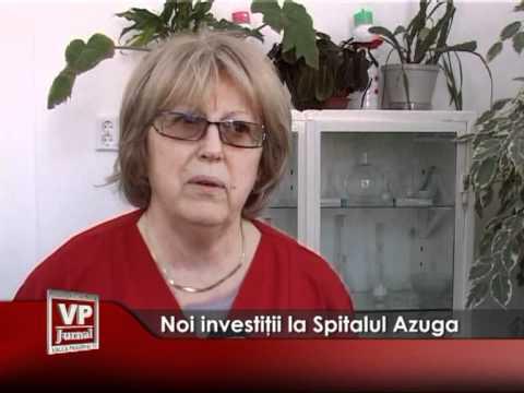 Noi investiţii la Spitalul Azuga