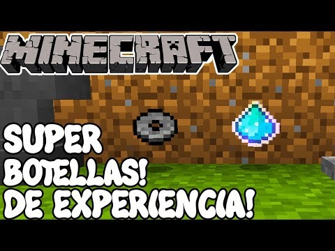 Minecraft 1.12 MOD SUPER BOTELLAS DE EXPERIENCIA! Emeralds to Experience Mod Español!