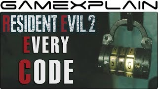 Resident Evil 2 Remake - How to Unlock Every Safe & Lock - GUIDE