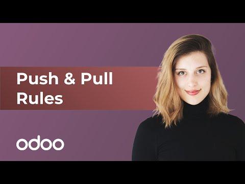Push & Pull-Regeln | odoo Inventar