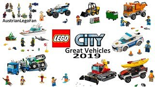Lego City Great Vehicles 2019 Compilation Of All Sets