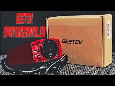 Das beste Reise-Tool / Gadget! Lets Test: Bestek - Spannungswandler 12V - 230V [deutsch]