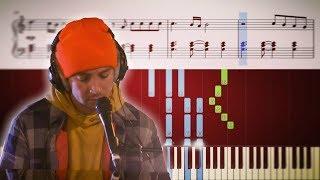 Ride By Twenty One Pilots - Live Lounge Version (Piano Tutorial)