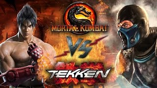 Рэп Баттл - Mortal Kombat vs. Tekken