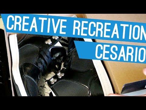 Creative Recreation - Cesario Black Unboxing