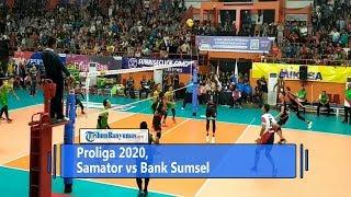 Hasil Proliga 2020, Surabaya Samator VS Palembang Bank Sumsel