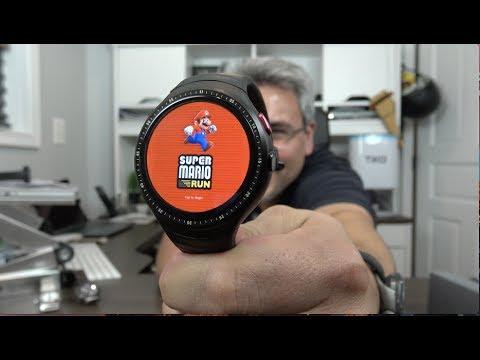 Increíble Mario Run En un Smartwatch - Lemfo Les 1