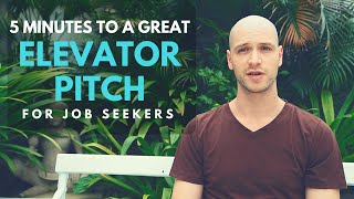 """Elevator Pitch For Job Seekers: How To Answer """"Tell Me About Yourself"""" In The Interview"""