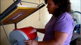 MAQUINA PARA IMPRESION EN CUBETA CILINDRICA CONICA