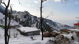 preview picture of video '#Heaven on earth#Sawat@snow#Malam Jabba#Jeep driving'
