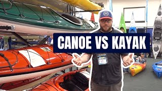 Canoe vs. Kayak | What's the difference?