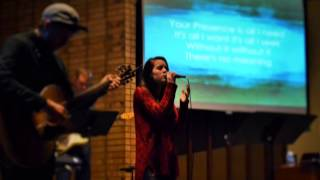 Angie Miller Worship Event February 27, 2015