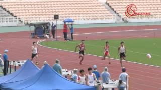 Lim Yao Peng 100m Invitational Heat 2 - 2015 Macau Invitational