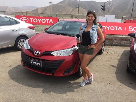 Nuevo Toyota Yaris 2018 - Presentación Perú