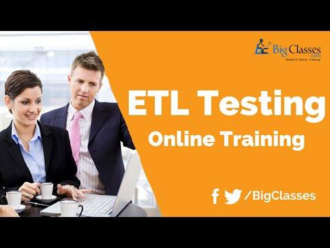 ETL Testing Training Tutoriaal - ETL Testing Using Informatica ...