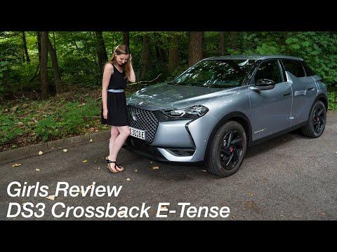 ⚡️⚡️⚡️ Larissa fährt den DS3 Crossback E-Tense Performance Line / Girls Review [4K] - Autophorie