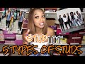 Download Video STUD 101 👩🏽🏫 || 5 TYPES OF STUDS || LESBIAN 🌈
