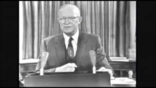 Eisenhower Farewell Address (Best Quality) - 'Military Industrial Complex' WARNING