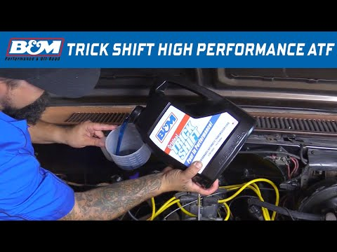 B&M Trick Shift Performance Automatic Transmission Fluid 80259 & 80260
