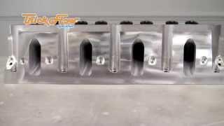GenX 205 Cathedral Port Cylinder Head Vortec