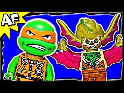 Vidéo LEGO Tortues Ninja 79120 : L'attaque aérienne en T-Rawket