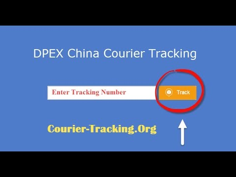 DPEX China Courier Tracking Guide