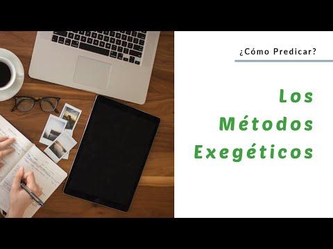 Los Métodos De Interpretación Bíblica Predicar Net La Red
