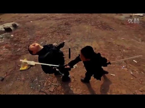 The Kids Expendables - Ninja Vs Warrior - Movie Clip # 2