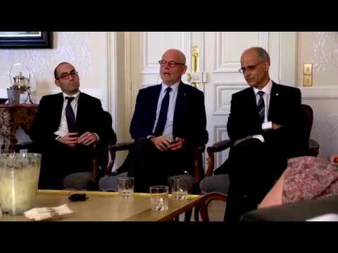 Play video Gouvernement : réunion tripartite à Monaco