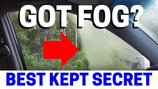 Never Get Foggy Car Windows Again After Watching This!