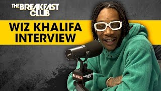 The Breakfast Club - Wiz Khalifa Answers Stoner Questions, Talks Creating Waves, Amber Rose + More