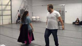 "The Phantom of the Opera - ""We Have All Been Blind"" and ""Point of No Return"" - Rehearsal"