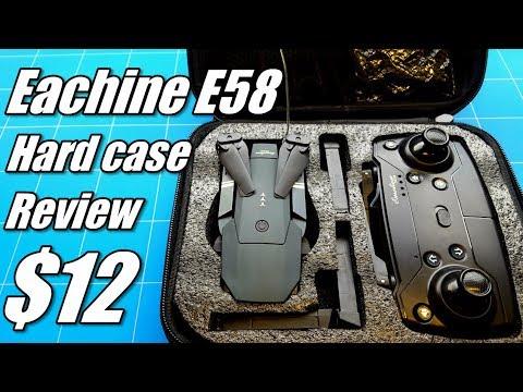 Eachine E58 Wifi FPV Drone Travel Case Upgrade With Hardshell For Emotion Mavic Clone