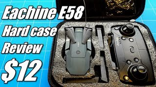 Eachine E58 Wifi FPV Drone Travel Case Upgrade With Hardshell For Emotion Mavic Clone