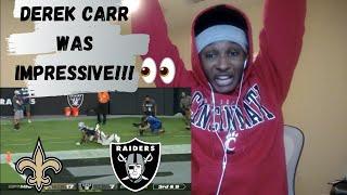 Saints vs. Raiders Week 2 Highlights Reaction!!   NFL 2020   LAS VEGAS RAIDERS WIN FIRST HOME GAME!!