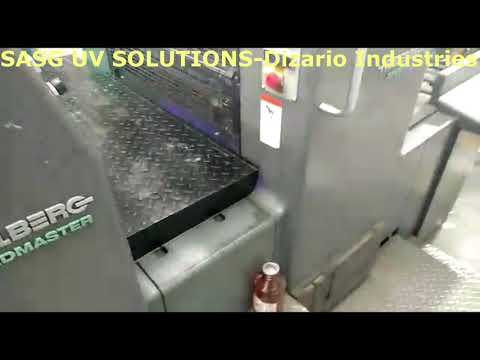 Water Cooled UV system