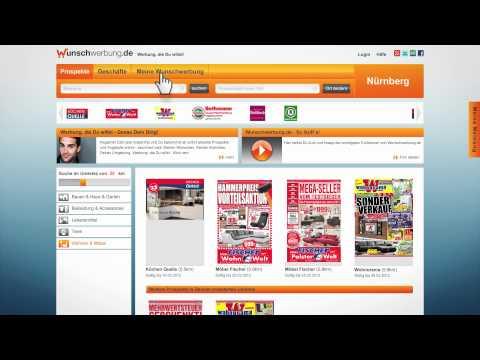 Jetzt aktuelle Prospekte und Angebote von Geschäften in Deiner Region im branchenübergreifenden Internetportal www.wunschwerbung.de finden!