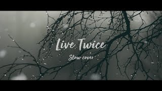 Live Twice - Darius (Slow Cover) Lyric Video