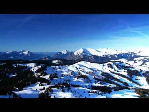 Skifahren im Skigebiet Les Gets