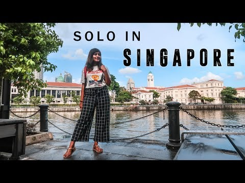 Download SINGAPORE VLOG ✨ Indian Girl Traveling Solo in Singapore | Kritika Goel HD Mp4 3GP Video and MP3
