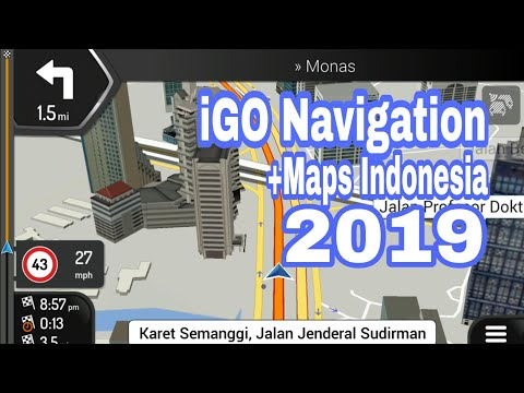 How to download for free iGO 2019 Europe and World maps