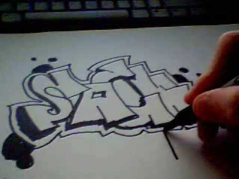 تعلم رسم جرافيتي بسهولة   كورس تعليم الرسم