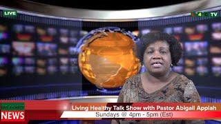 LIVING HEALTHY: Pastor Abigail Appiah (Promo)