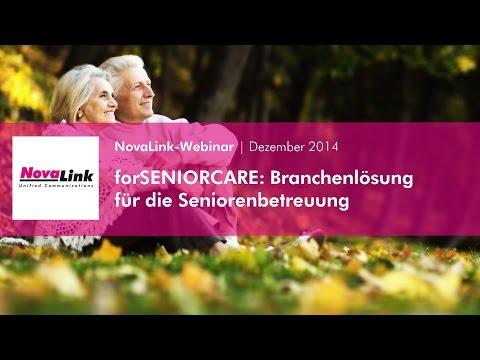 Die Anzahl der Senioren wächst ständig und stetig. Verändert haben sich aber auch die Ansprüche von Menschen im Alter: So lange wie möglich in der vertrauten Umgebung zu leben und trotzdem jederzeit auf Hilfe zurückgreifen zu können. Erfahren Sie in nur 30 Minuten, wie Sie mit der SENIORCARE-Lösung von NovaLink die Sicherheit und den Wohlfühl-Faktor von Senioren erhöhen.   Der Pflegebereich, speziell wenn es um die Betreuung von Senioren geht, erfordert innovative Kommunikationstechniken in den Pflegeheimen und betreuten Wohnumgebungen. Schnelle Reaktion im Bedarfsfall und die Einleitung der richtigen Schritte, sind hier die Anforderungen. Dadurch sollen Menschen im Alter ihre Selbstständigkeit weiter behalten können – denn das Gefühl, in Notsituationen schnell und gezielt Hilfe anfordern zu können, ist ein erheblicher Gewinn an Lebensqualität. Gleichzeitig werden dadurch das Pflegepersonal sowie die Angehörigen entlastet.
