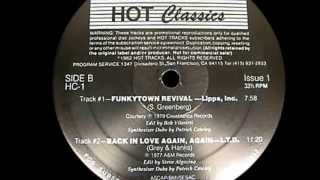 Lipps Inc  Ft Patrick Cowley ~ Funkytown 1979 Disco Purrfection Version